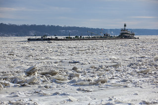 Frozen Hudson River in Kingston, New York January 2014 | by Anthony Quintano