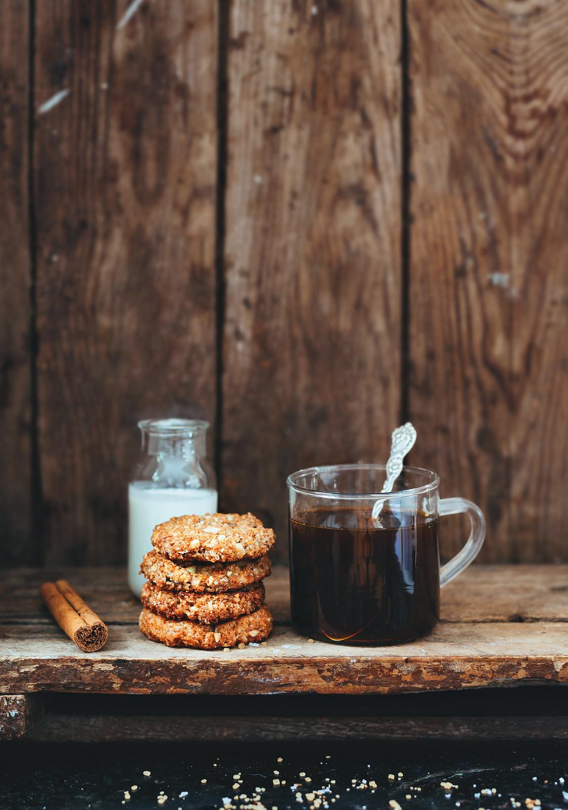 Glutenfria småkakor med smak av kanel - Evelinas Ekologiska