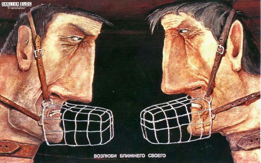苏联改革时期宣传画67