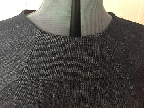 Rushcutter neck detail