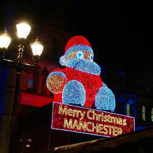 I'm loving Manchester's Christmas markets!