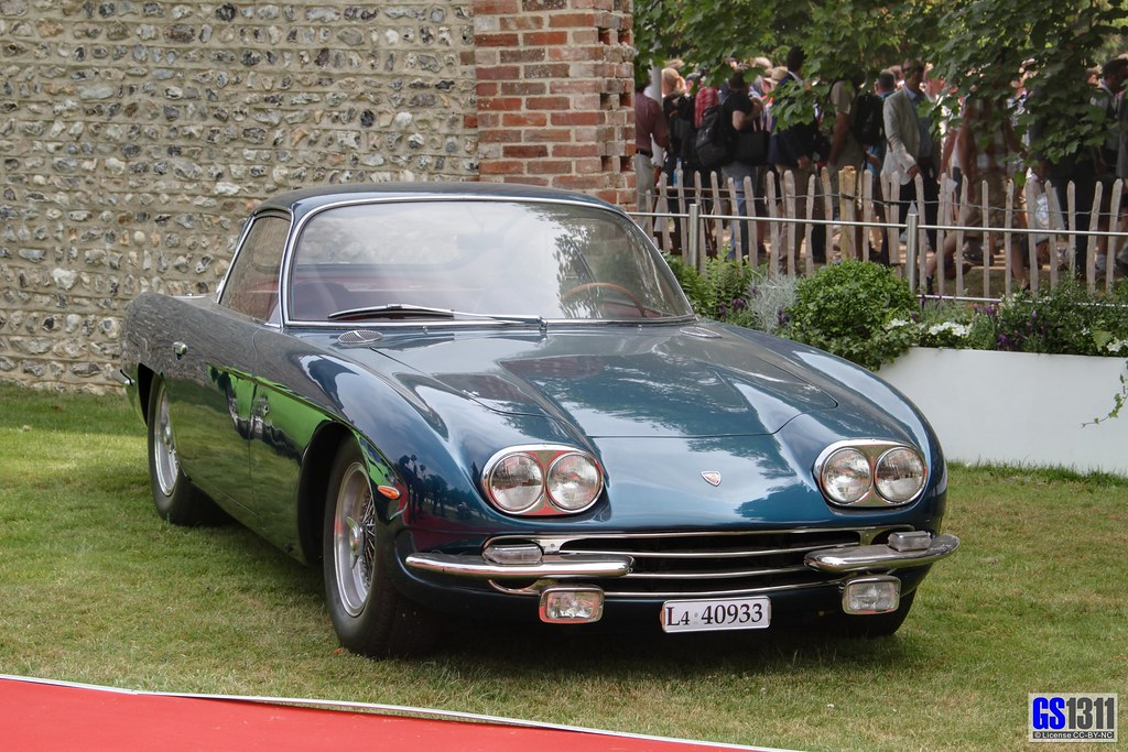 1966 - 1968 Lamborghini 400 GT   Join my car pics page on fa…   Flickr