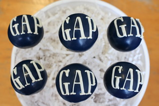 Gap Inc. Logo Cake Pops | by Sweet Lauren Cakes