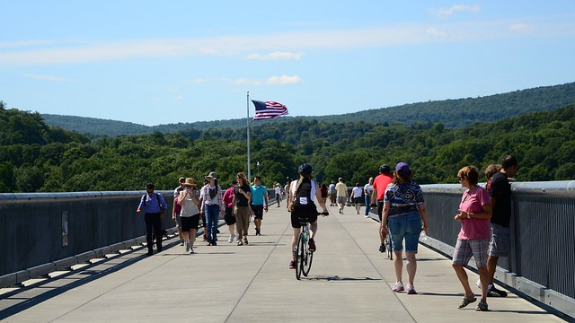 On the Walkway Over the Hudson