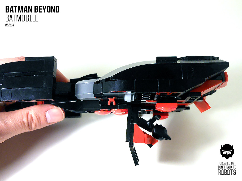 Lego Batman Beyond Batmobile When Lego Came Out With The N Flickr