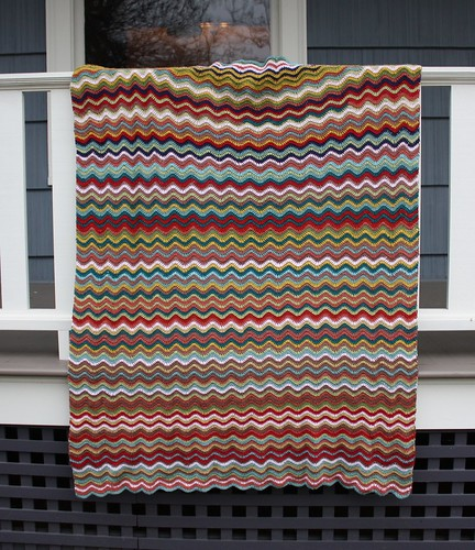Soft Waves Afghan | by CaitlinD