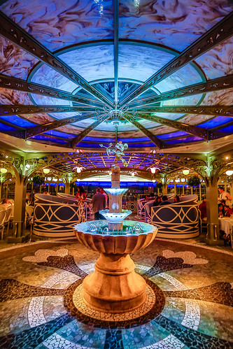Enchanted Garden Restaurant On The Disney Dream Join In Th Flickr