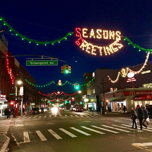 It's #Christmas in Greenpoint. #brooklyn #nyc | by enobo