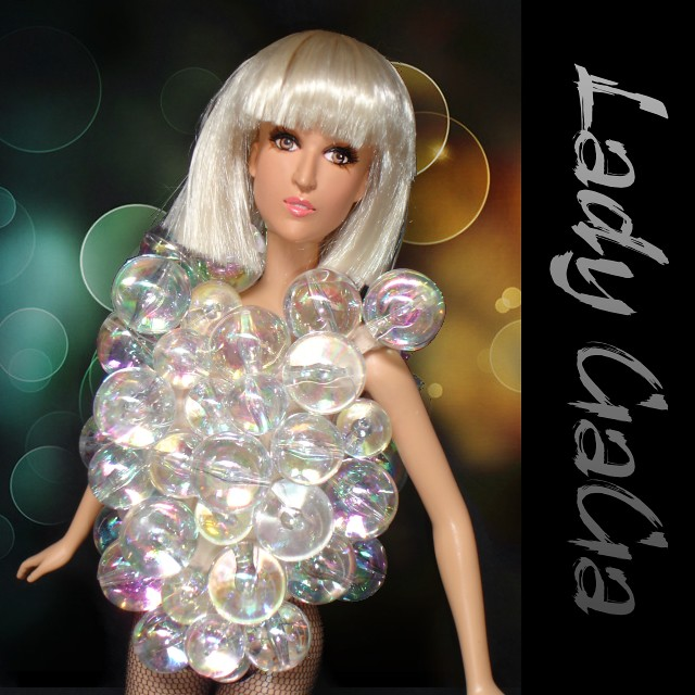 Lady gaga bubble dress not