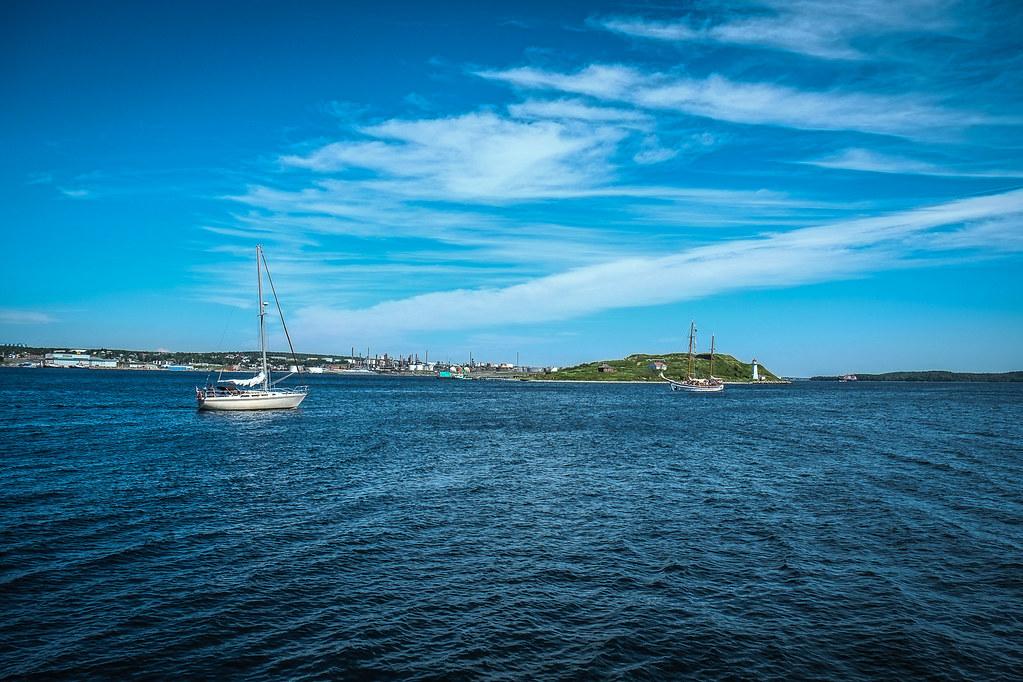 A View of George's Island, Halifax, Nova Scoita