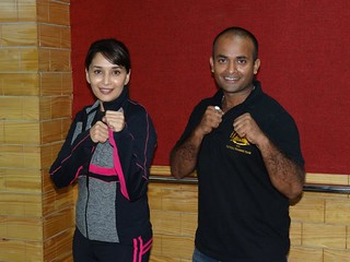 Shifu Kanishka and Madhuri Dixit | by INDIAN SHAOLIN