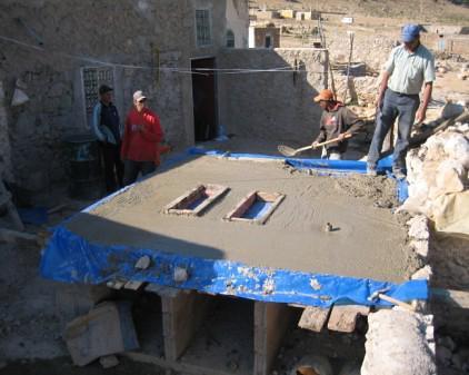 Construction de salle de bain avec tdsu photo taken by for Construction salle de bain