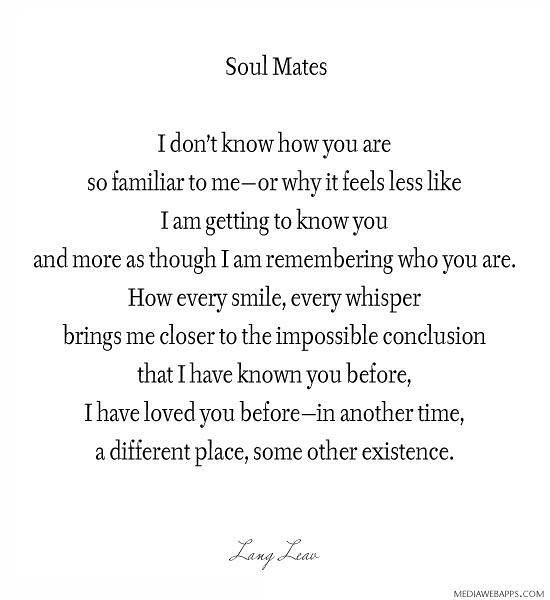 Lovequote Quotes Heart Relationship Love Soul Mates F Flickr