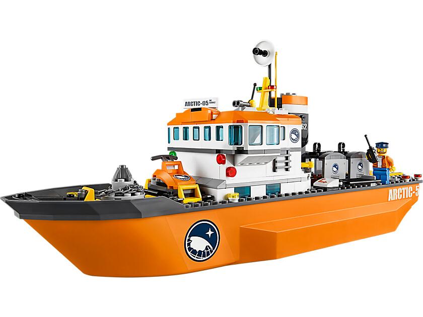 lego city arctic icebreaker 60062 by neoapecom - Lego City Bateau