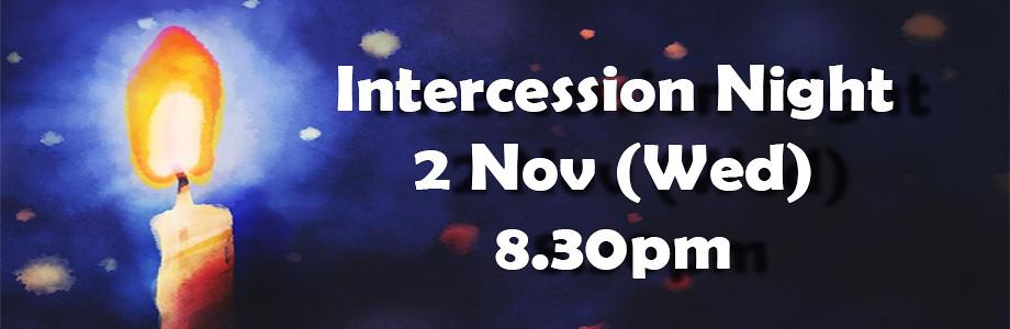 intercession night nov web