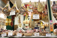 cured meat galore