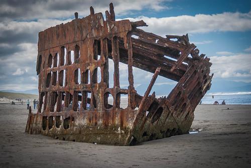 Iron Hull Shipwreck