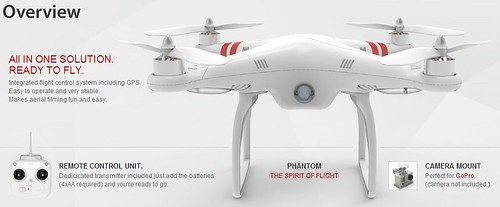 DJI PHANTOM RTF Quadcopter GoPro Compatible WITH GPS FLIGHT CONTROL | by dayjoybuy.com