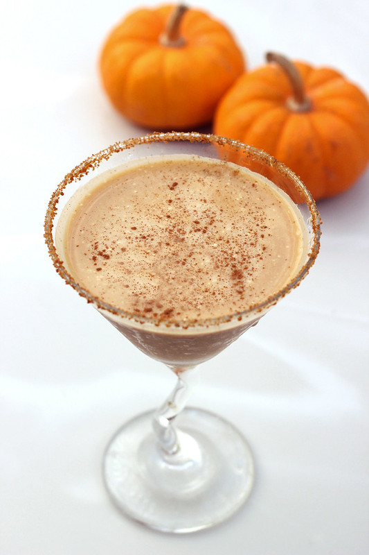 Vegan Pumpkin Pie Martini