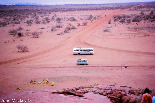 Ayers Rock Road 1964 | by Peter_Mackey