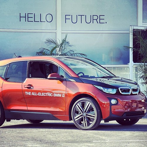Hello Future. BMW I3 Electric Car Spotted In Las Vegas