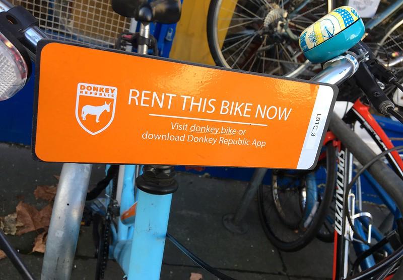 Donkey Republic London bike rental 12