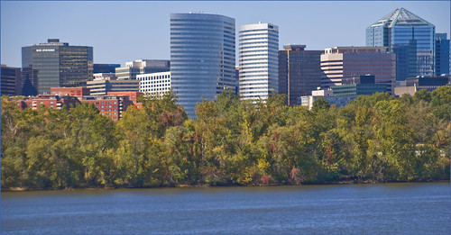 Rosslyn (VA) Skyline from the Potomac River October 2013 | by Ron Cogswell