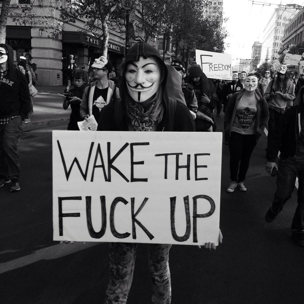 Wake thr fuck up