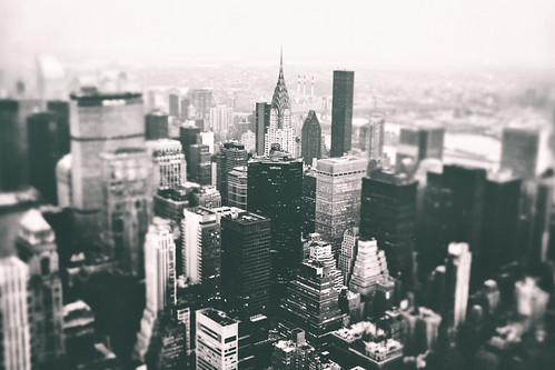 New York City - Chrysler Building and Skyscrapers From Above | by Vivienne Gucwa