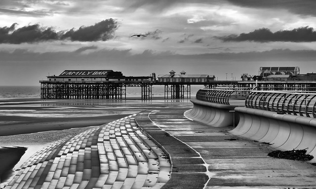 Blackpool In Winter