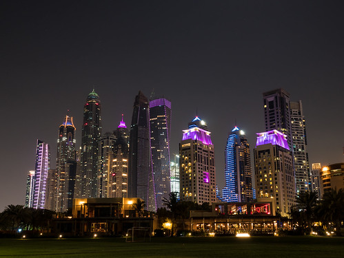 Dubai Marina view | by serorgon