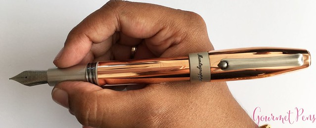 Review Montegrappa Fortuna Copper Mule Fountain Pen @PenChalet @Montegrappa 1912 14