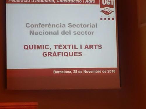 Conferencia del sector quimico, textil ... 28/11/16