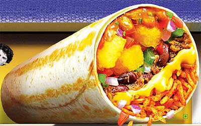 Taco-Bell-advertised7-layer-burrito-India | KLPD India | Flickr