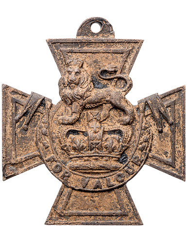 1854 Victoria Cross found in Thames River | by Numismatic Bibliomania Society