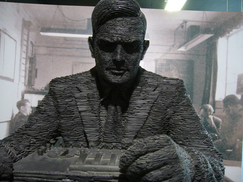 Bletchley Park: Alan Turing statue