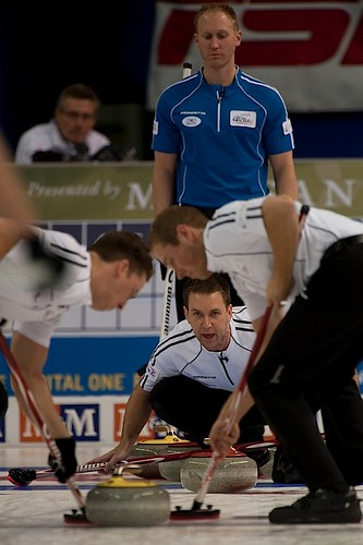 Team Gushue in action | by seasonofchampions