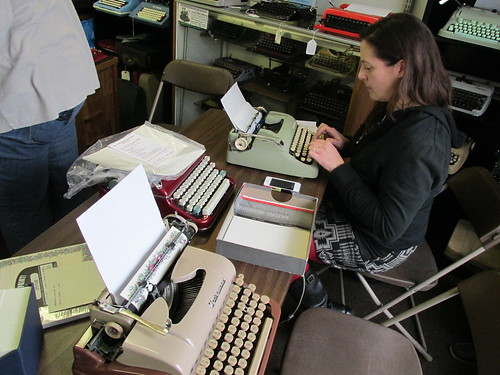 Type-In at California Typewriter in Berkeley CA Dec 27 2013 | by mpclemens