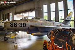 MM53-6892 35-38 - - Italian Air Force - Republic F-84F Thunderstreak - Italian Air Force Museum Vigna di Valle, Italy - 160614 - Steven Gray - IMG_0817_HDR