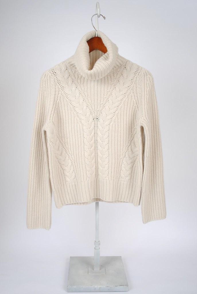 Eve Cashmere Turtleneck Sweater