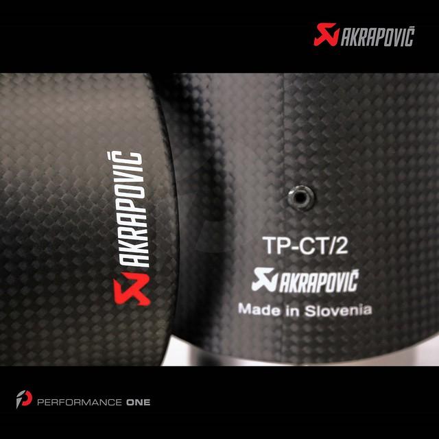 Akrapovič Evolution Line (Titanium) exhaust carbon fiber tips for BMW E71 X6 M