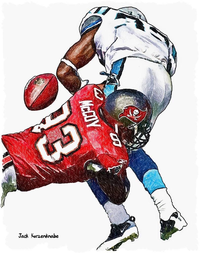 0 Tampa Bay Buccaneers Gerald McCoy Carolina Panthers Mi…