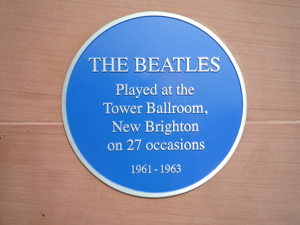 Bildresultat för the beatles at the Tower Ballroom, New Brighton December 7th 1962