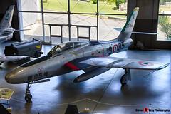 MM52-7458 3-05 - - Italian Air Force - Republic RF-84F Thunderflash - Italian Air Force Museum Vigna di Valle, Italy - 160614 - Steven Gray - IMG_0988_HDR