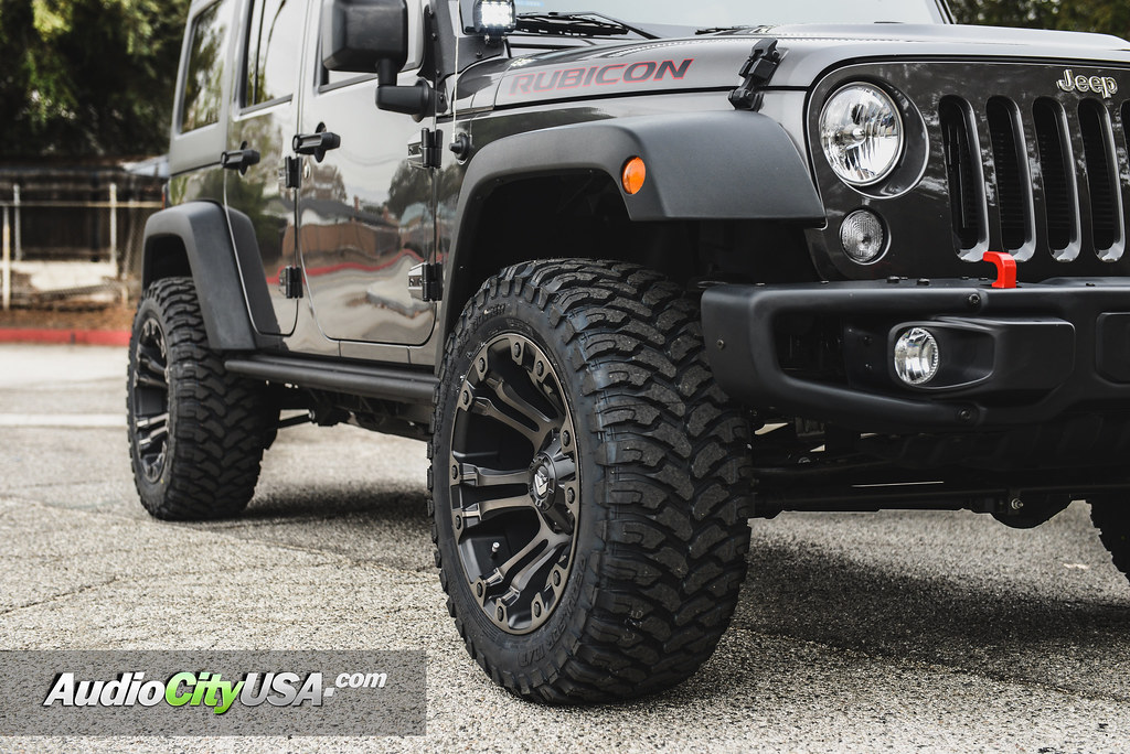 2017 Jeep Wrangler Rubicon 20 Quot Fuel Wheels Vapor D569