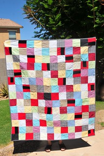 grandpa quilt | by Mama Mel Loves