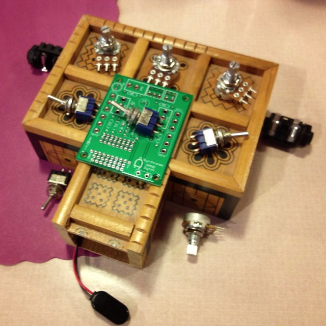 Homemade synth