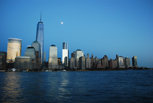The moon over Manhattan | by andrew.napier