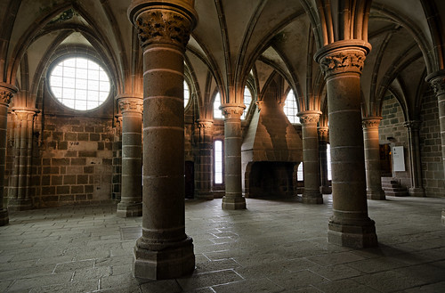 Inside Mont Saint Michel This Is One Of The Rooms Inside