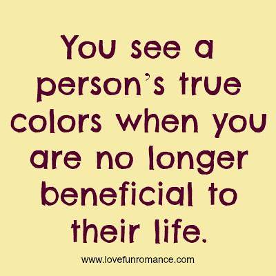 ... #Quotes #Love #Relationship You See A Personu0027s True Colors When You